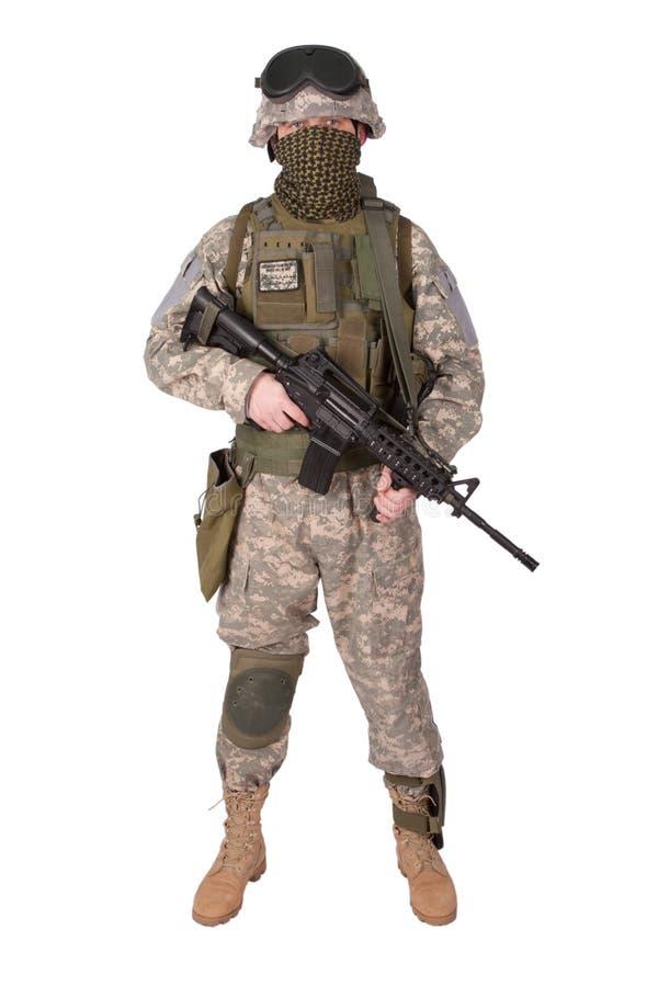 U S Soldado de infantería del ejército fotos de archivo