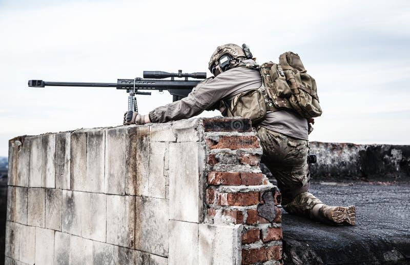 U S Wojsko snajper zdjęcie stock
