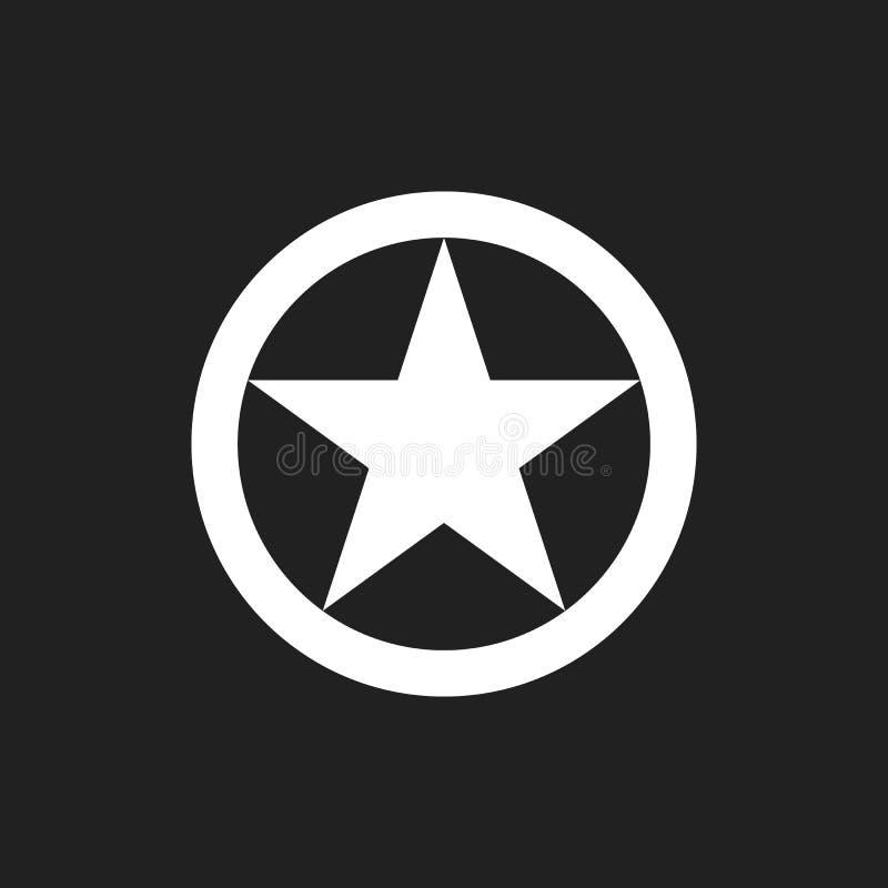 U S Wojsko szyldowy logo ilustracji