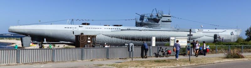 U-995 type sous-marin photos libres de droits