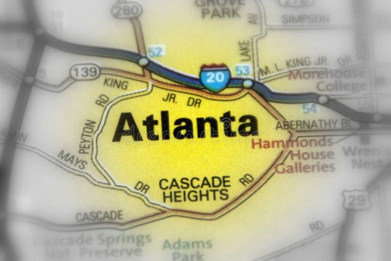 U van Atlanta, Georgië, Verenigde Staten S stock foto