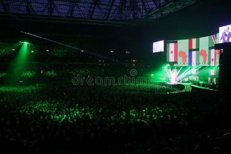 U2 immagine stock