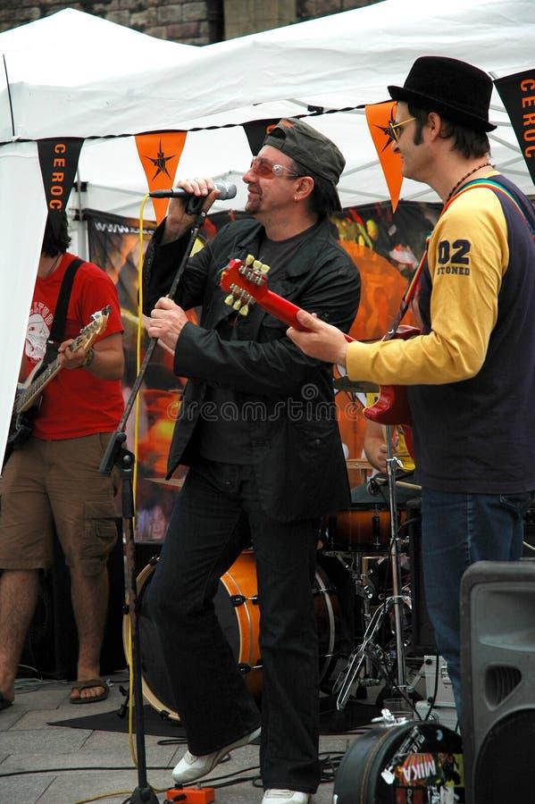 U2 Singer Bono Editorial Photo