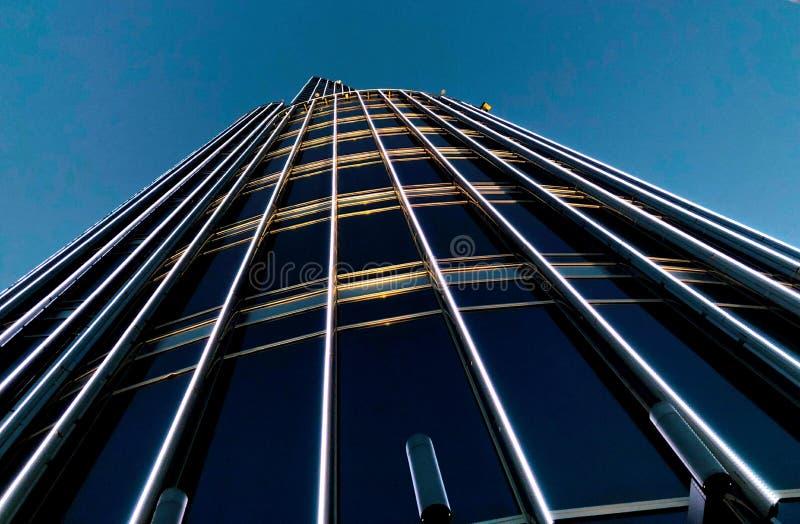 UAE, Dubaj, Burj Khalifa nocą obrazy stock