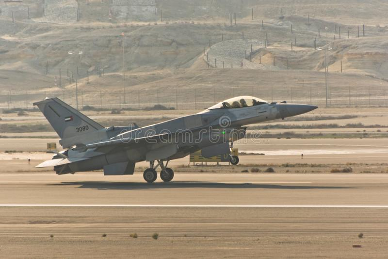 UAE f-16 royalty free stock images