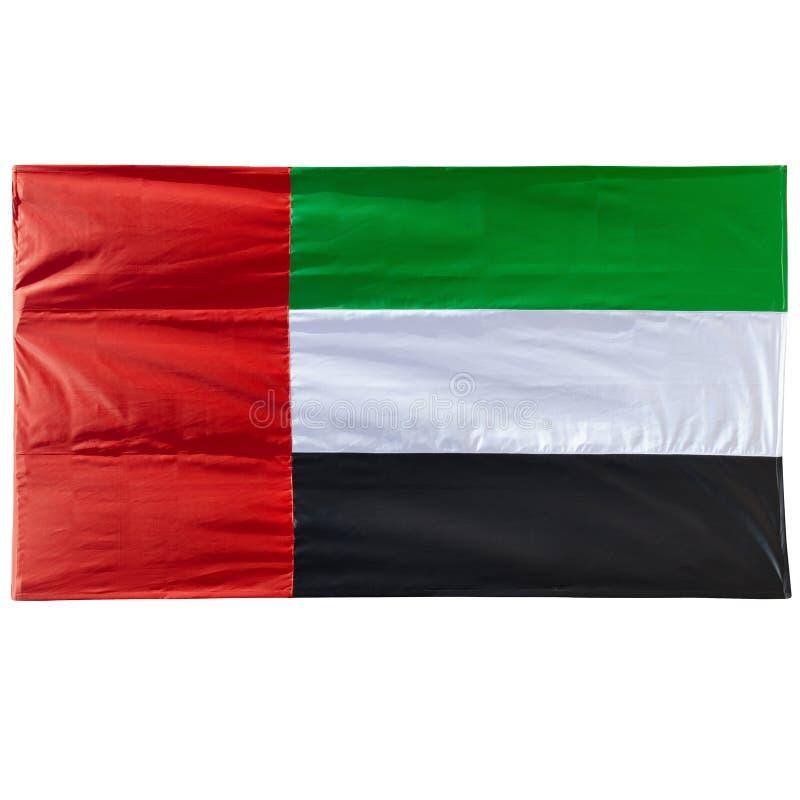 UAE flaga - Istna fotografia zdjęcie royalty free