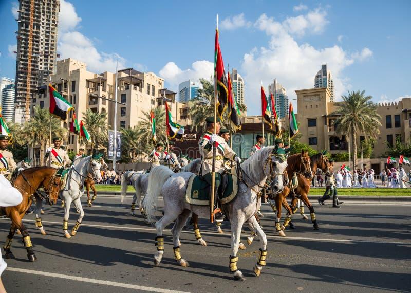 UAE National Day parade royalty free stock photography