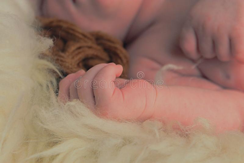 UAU! Bebê tão agradável imagens de stock royalty free