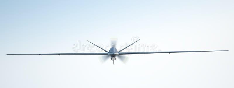 UAV трутня иллюстрация вектора