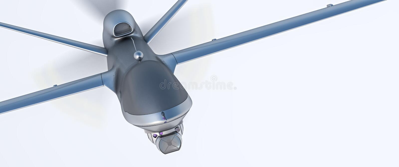 UAV do zangão fotografia de stock royalty free