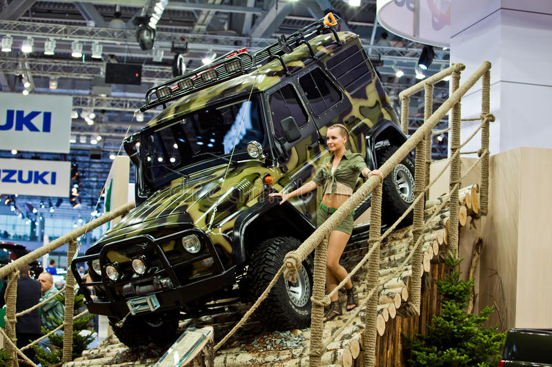 Download UAZ Patriot Presented In Moscow, Russia. Editorial Photo - Image: 17719171