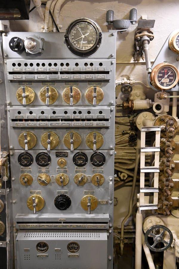 Ubåt USS Silvesides för Förenta staternamarin royaltyfri foto