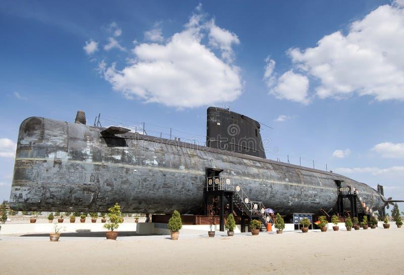 Ubåtmuseum i Malacca, Malaysia fotografering för bildbyråer