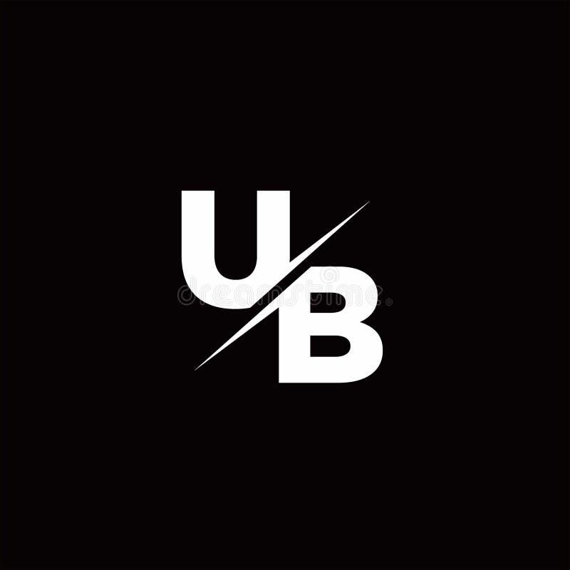 Free UB Logo Letter Monogram Slash With Modern Logo Designs Template Royalty Free Stock Photos - 164908128