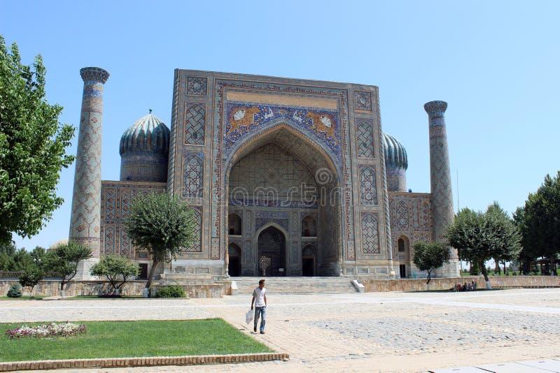 Ubekistan, Самарканд стоковое изображение