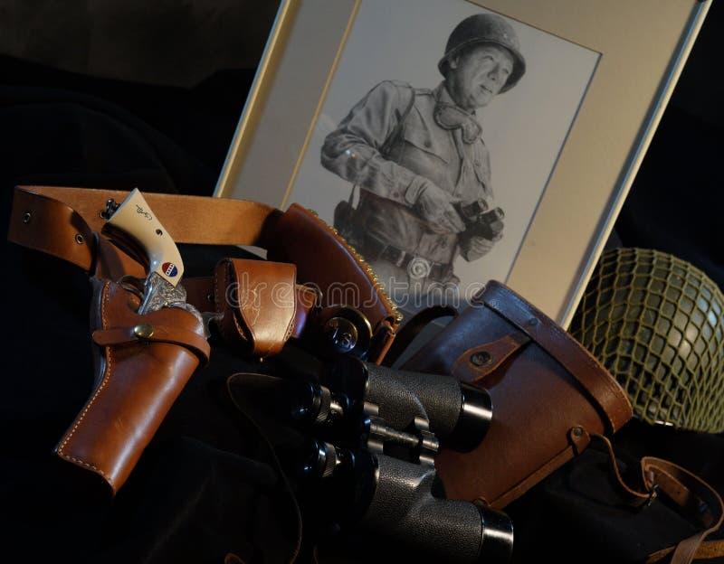 Uberti Patton Commemorative imagens de stock royalty free