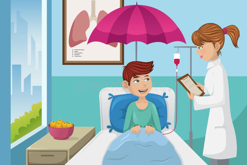 Ubezpieczenia zdrowotnego pojęcie ilustracji