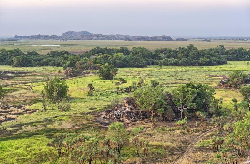 Ubirr, Australie image libre de droits