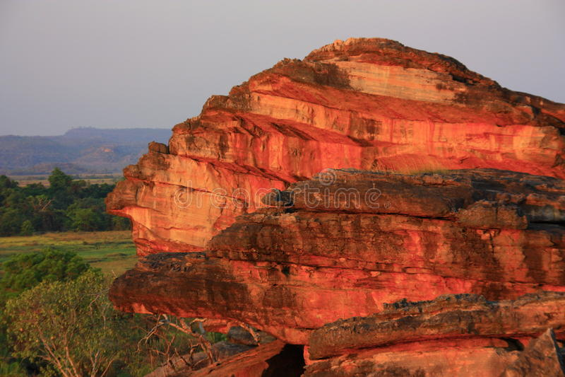 Ubirr, parc national de kakadu, Australie photographie stock