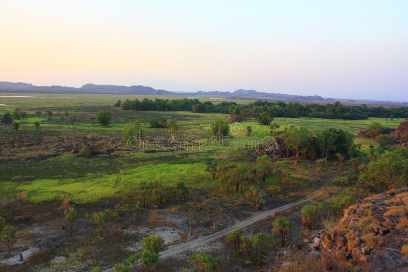 Ubirr, parc national de kakadu, Australie photographie stock libre de droits