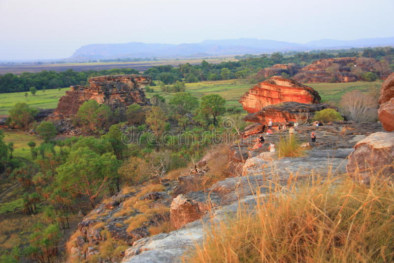 Ubirr, parc national de kakadu, Australie images stock