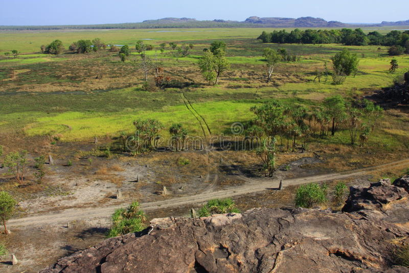 Ubirr, parc national de kakadu, Australie image stock
