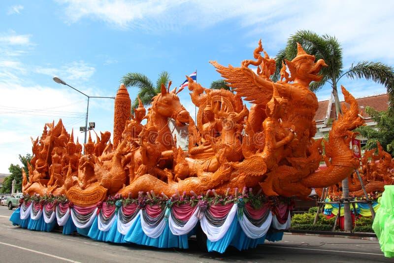 UBON RATCHATHANI, TAILANDIA - 25 luglio:  immagine stock