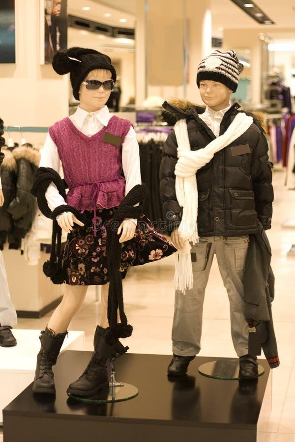 ubrania dziecka do sklepu zdjęcie stock