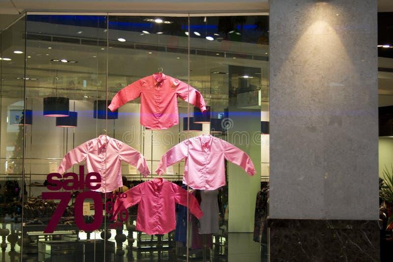 ubraniowy sklep obraz stock