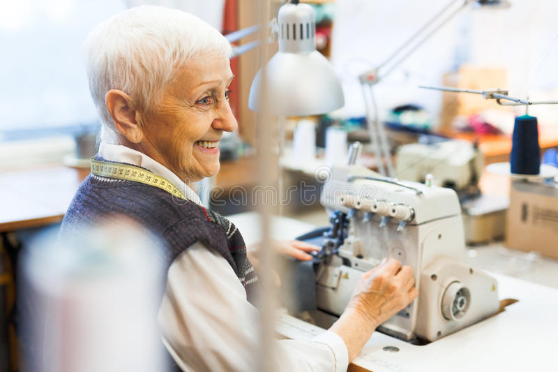 Ubraniowy wytwórca zdjęcia stock