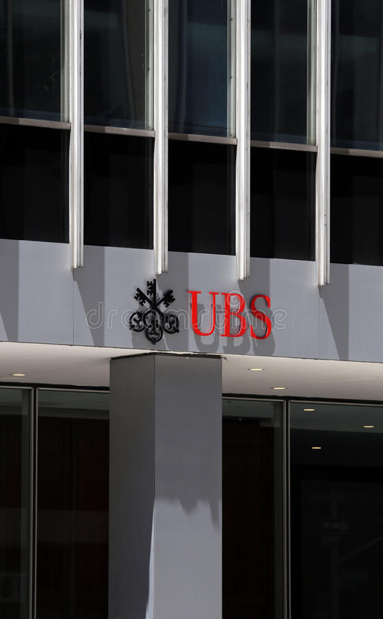 UBS royalty-vrije stock afbeelding