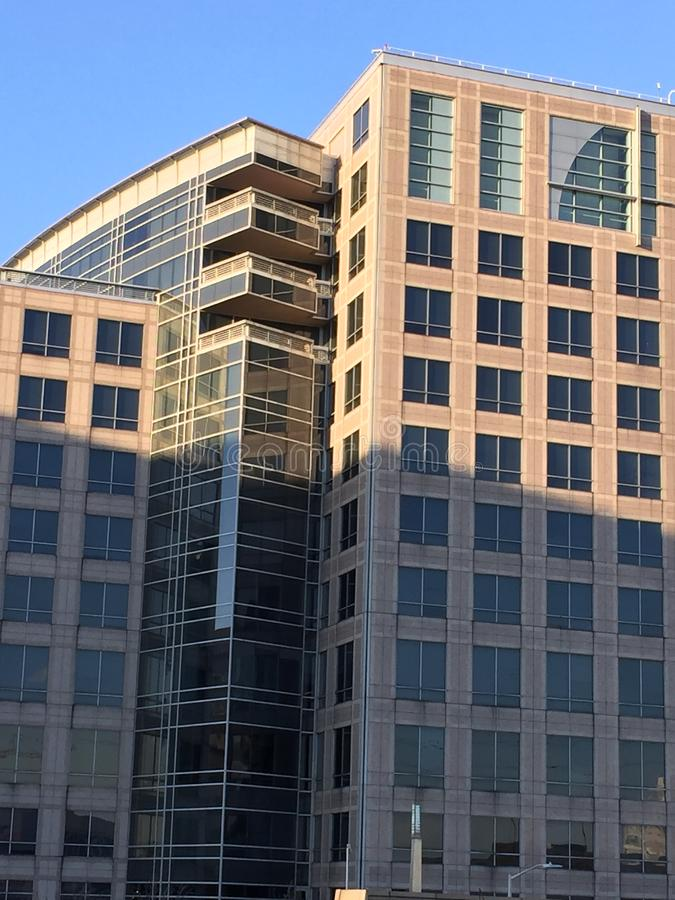 UBS-hoofdkwartier in Stamford Connecticut stock foto's