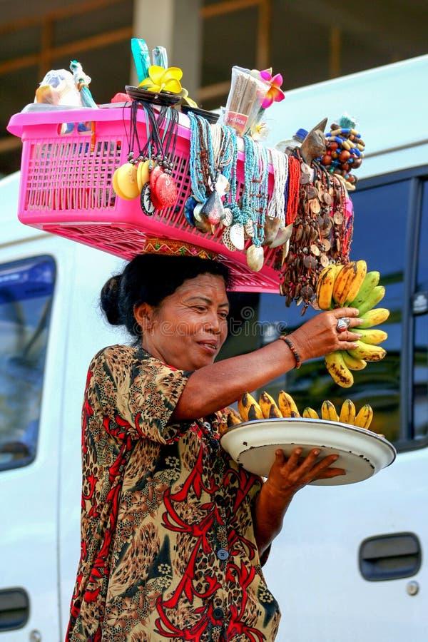 2009 10 07, Ubud, Bali Arbeiter in Ubud Reise um Bali lizenzfreies stockfoto