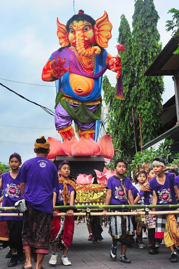 Nouvelle année de Balinese photographie stock libre de droits