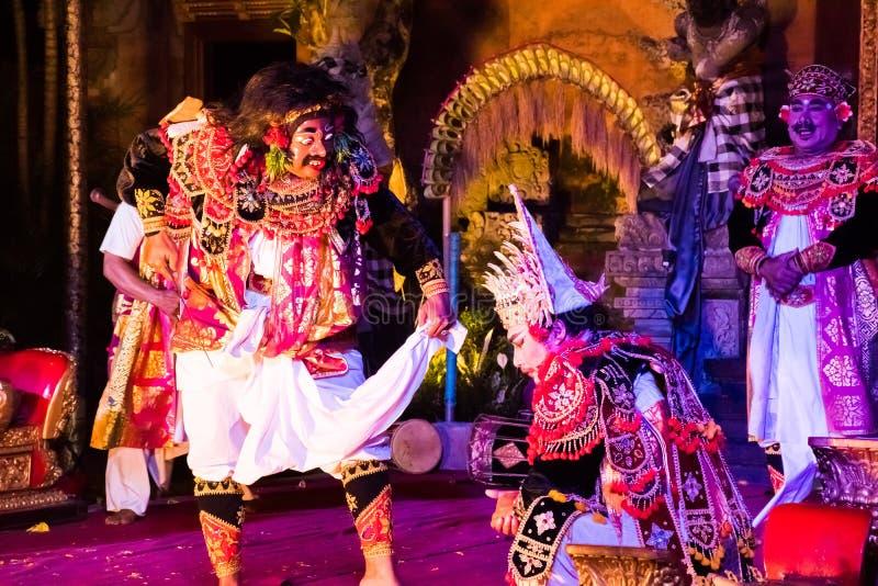 UBUD, BALI, INDONESIA - APRIL, 19: Legong traditional Balinese d royalty free stock photography