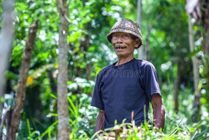 Ubud, Bali, Indonesien - März 2015 lizenzfreie stockfotografie