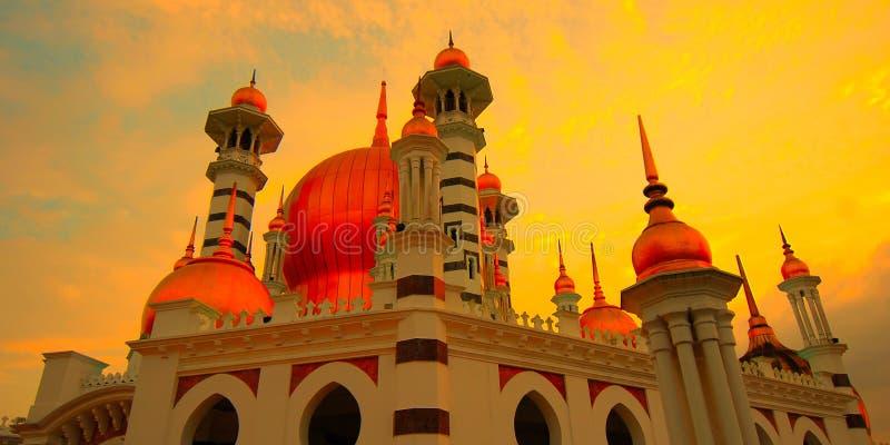 Ubudiah清真寺,瓜拉江沙县,霹雳州,马来西亚 库存图片