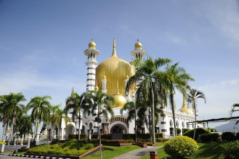 Ubudiah meczet przy Kuala Kangsar, Perak (Masjid Ubudiah) obraz royalty free