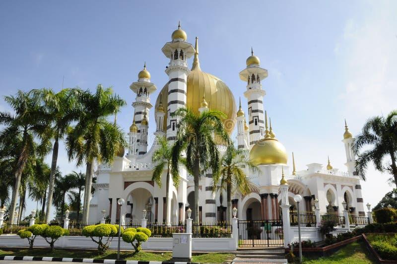 Ubudiah-Moschee bei Kuala Kangsar, Perak lizenzfreie stockfotografie