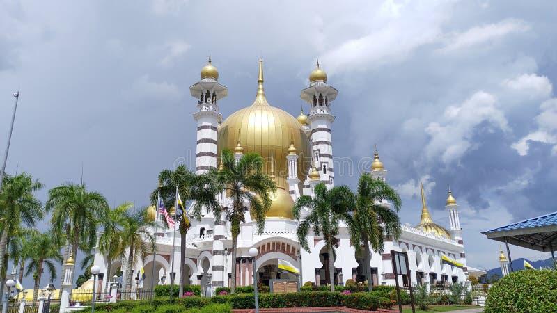 Ubudiah-Moschee in Kuala Kangsar, Malaysia lizenzfreie stockfotografie