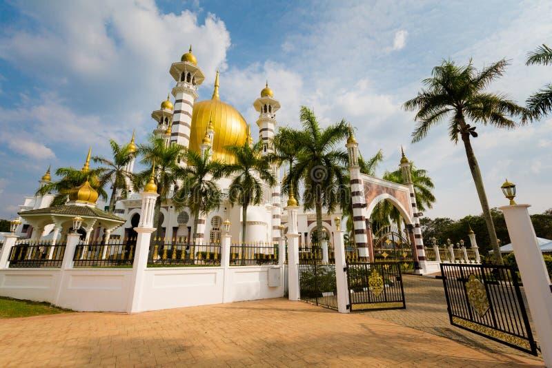 Ubudiah moské i Kuala Kangsar arkivfoton
