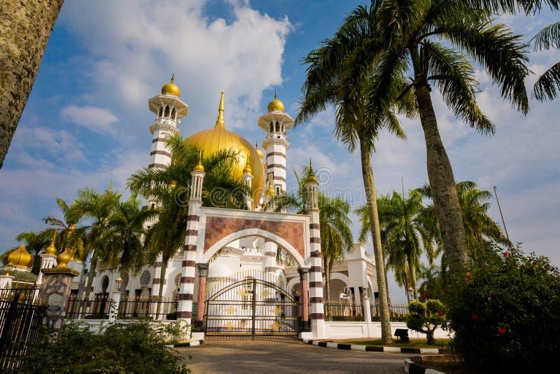 Ubudiah moské i Kuala Kangsar fotografering för bildbyråer