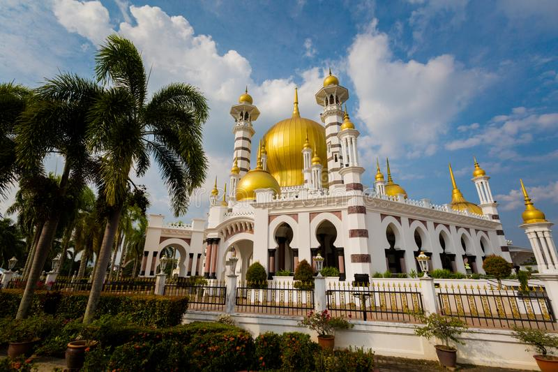 Ubudiah moské i Kuala Kangsar royaltyfria bilder