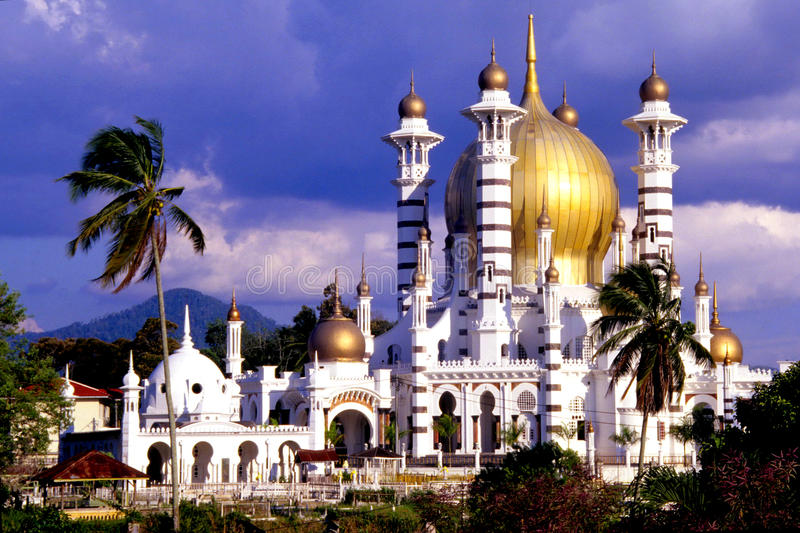 Ubudiah Mosque royalty free stock images