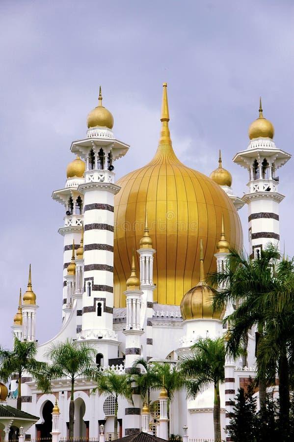 Download Ubudiah Mosque stock image. Image of asia, perak, minarets - 4364101
