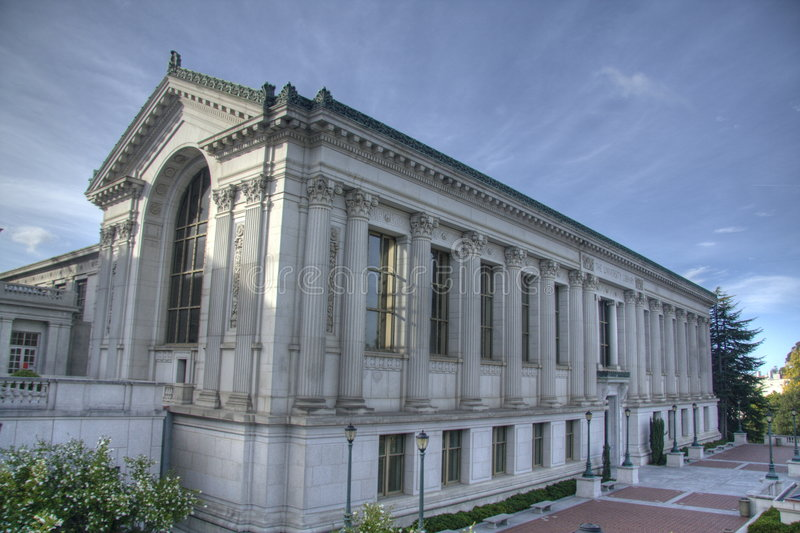 Uc Berkeley fotografia stock libera da diritti