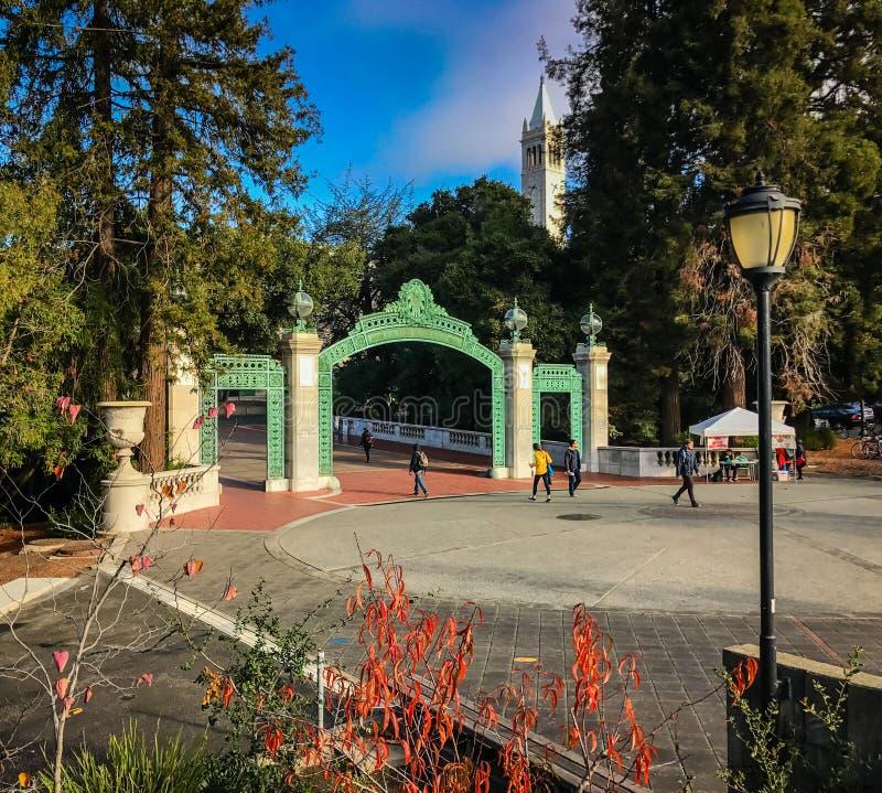UC Berkeley royalty-vrije stock afbeelding