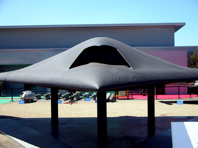 UCAV - Neuron - Dassault royaltyfri fotografi