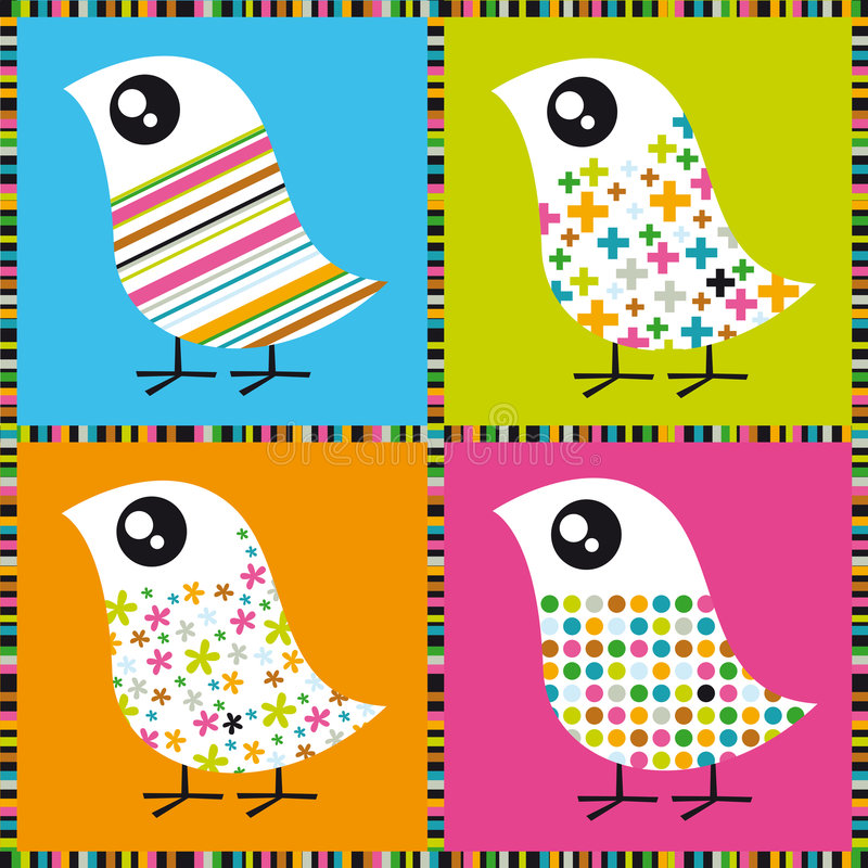 Uccelli variopinti