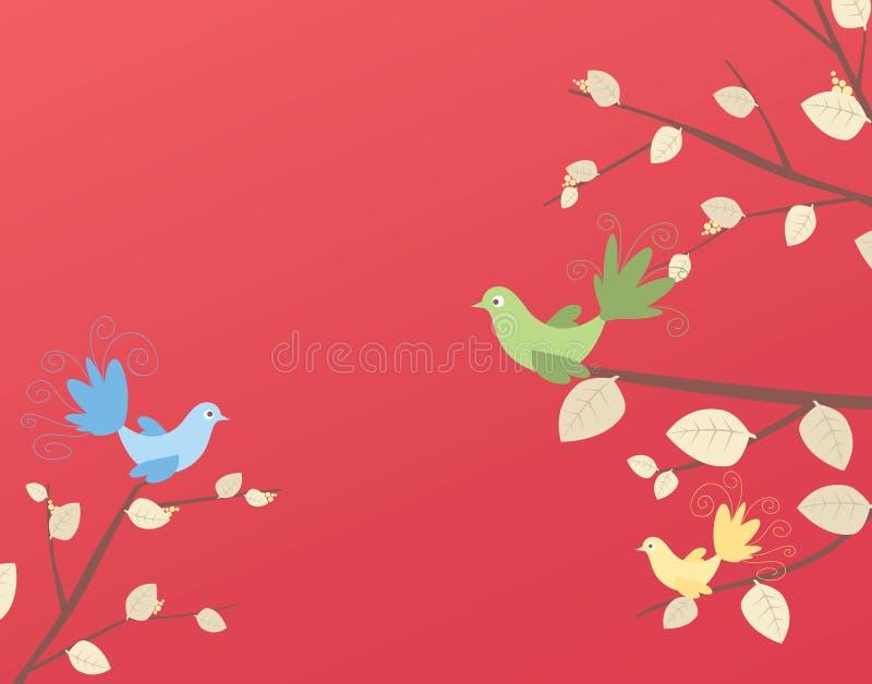 Uccello illustrazione vettoriale